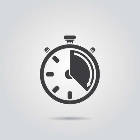 time: stopwatch icon