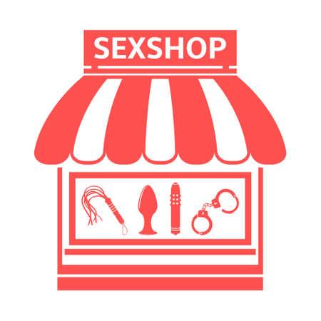 sex shop: Sex shop icon