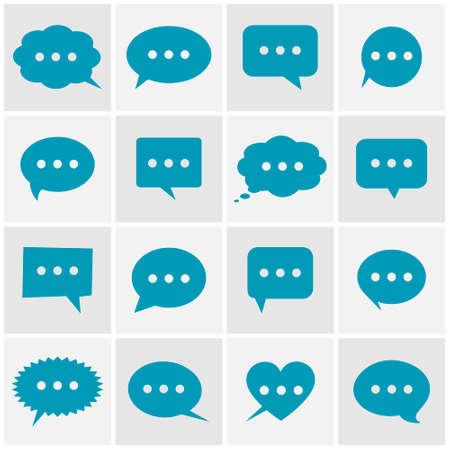 converse: speech bubble icons