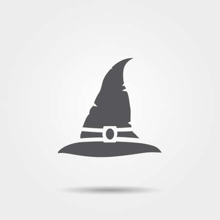 Witch hat icon. illustration.