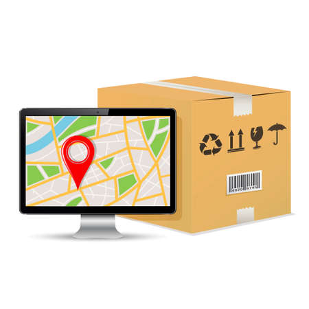Shipping parcel tracking order design