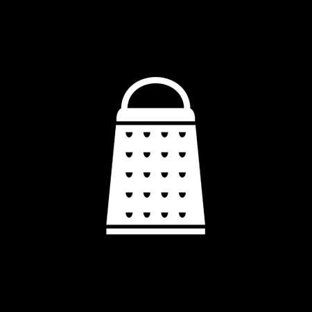 Grater for cheese, vegetables and fruits icon. Vector illustration. Иллюстрация