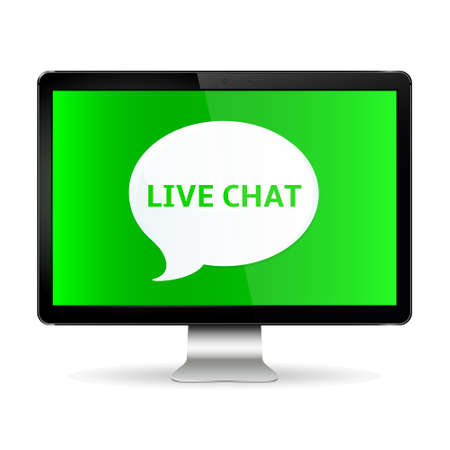 Digital Display with Live Chat