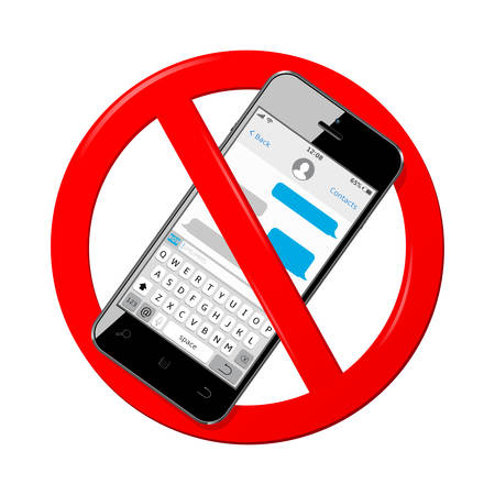 Do not send messages on a white background.