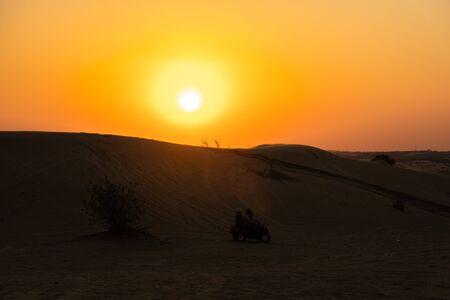 Scenic landscapes of Dubai Desert