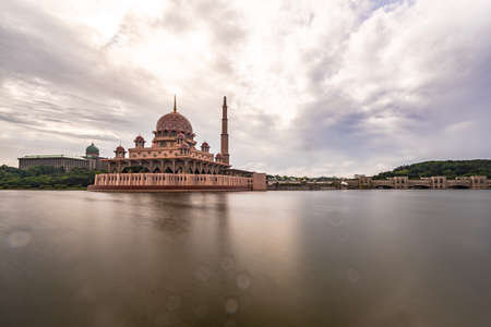 The Putra Mosque (Malay: Masjid Putra) is the principal mosque of Putrajaya, Malaysia. Construction of the mosque began in 1997 and was completed two years later.
