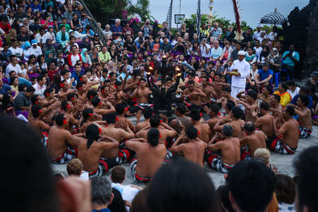 The Kecak Fire Dance is one of Bali's most iconic art performances, famous for its dominant use of human vocals in place of gamelan instruments to accompany the dance.