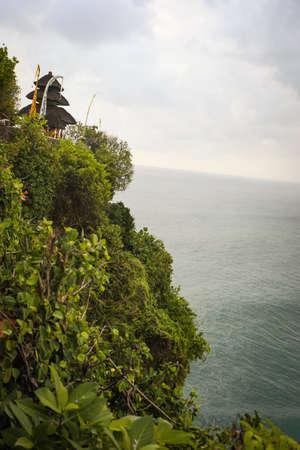 Scenic shot at Uluwatu Cliff, Bali