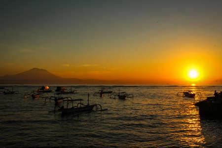 Sunrise at Sanur Sindhu Beach, Bali