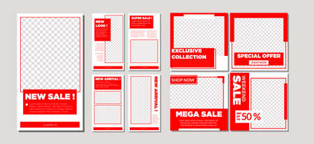 This product can be used for several purposes such as posting on social media such as , and also stories.  This vector template can be used to sell on social media for business purp