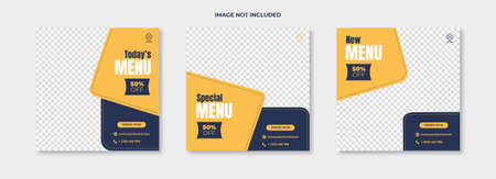 Set of sale banner template design. Vector illustration. This vector design is can be used for business, templates and more. easy to use and edit