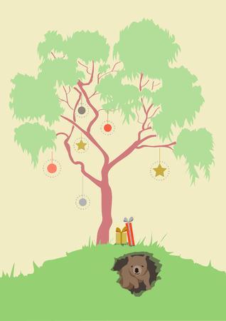 Australian Christmas Illustration