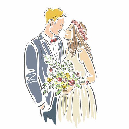happy couple: Happy Couple Wedding
