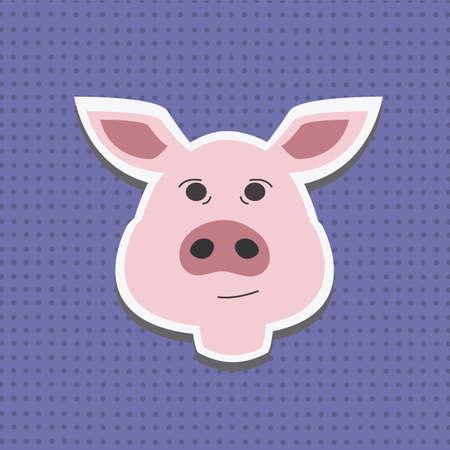 barnyard: Pigs head