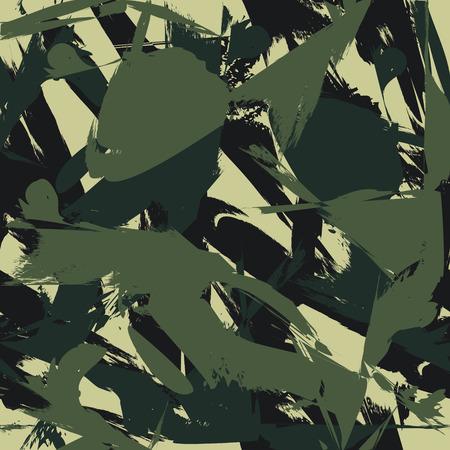 Camouflage seamless pattern
