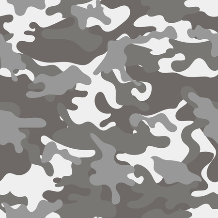 Army military camouflage seamless pattern.Can be used for background design, military textile. Ilustrace