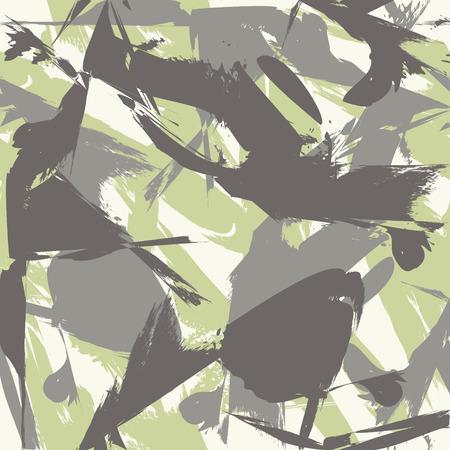 Camouflage naadloos patroon