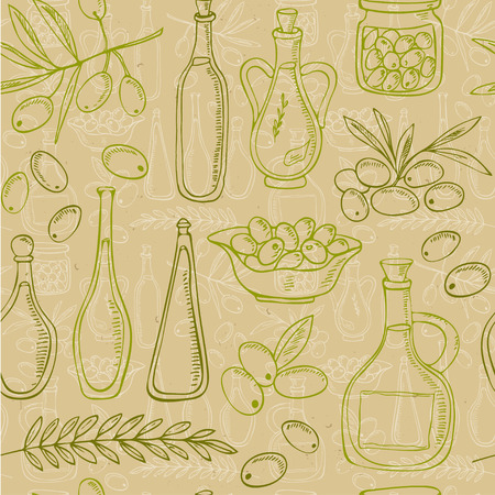 leaf vegetable: Hand drawn Finance seamless pattern  Isolated vector illustration for identity, design, decoration, packages product and interior decoration