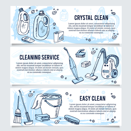 washing windows: Cleaning service vector concept . Web and mobile applications illustration template design brochure banner presentation poster, cover booklet document.