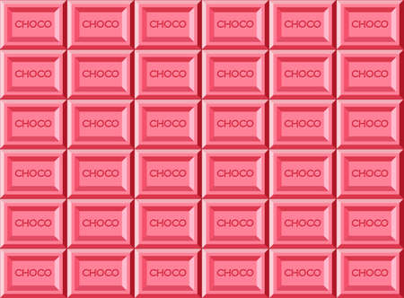 pink Chocolate bar