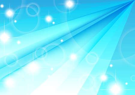 illustration-blue background