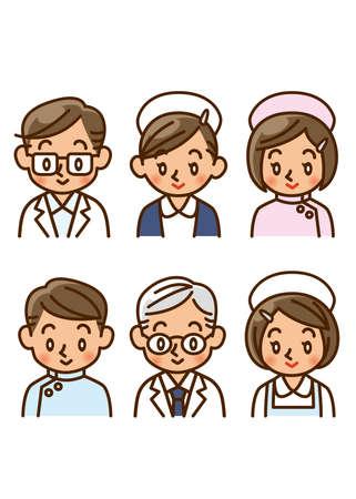 medical worker, doctor, nurse Stock Photo