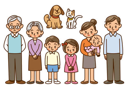 family, home, character, pet Stock Photo