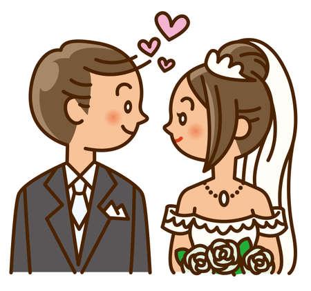 marriage, wedding, dress