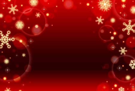 christmas snow background illustration
