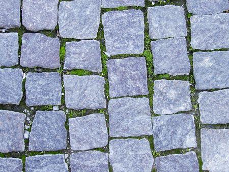 road paving: textura de piedra  Foto de archivo