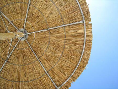 shady: beach umbrella