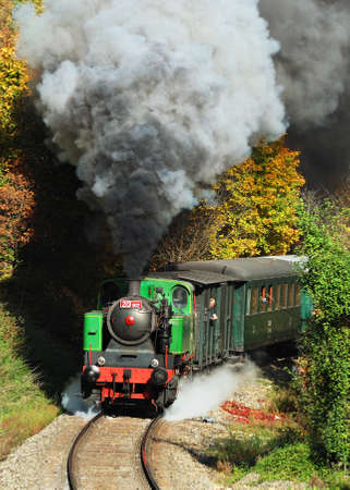 Steam train Editorial