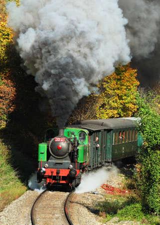 Steam train Stock Photo - 16628092