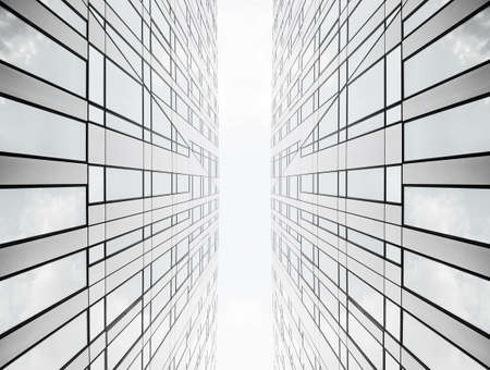 symetric: Lines to heaven Stock Photo