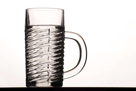 Half liter glass Stock Photo
