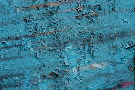 Old blue cracky wall texture