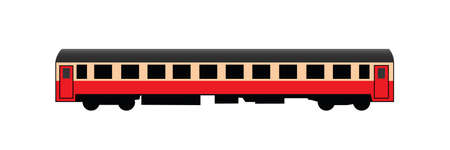 Passenger rail car Stock Vector - 20791469