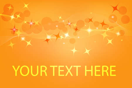 Abstract vector background with a space for text Illustration