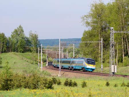 High speed trainset in the Czech Republic
