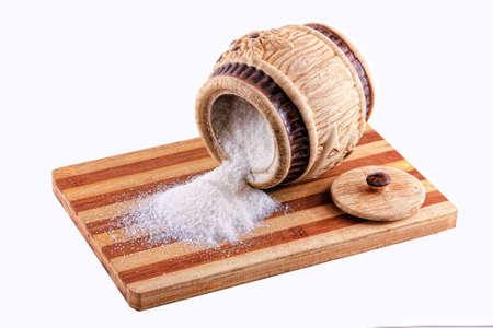 overturned: The overturned sugar bowi