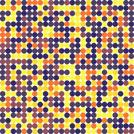 Los círculos del mismo tamaño diseñan diferentes colores. Fondo transparente. Ilustración vectorial Ilustración de vector