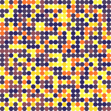Same size circles pattern different colors. Seamless background. Vector illustration 일러스트