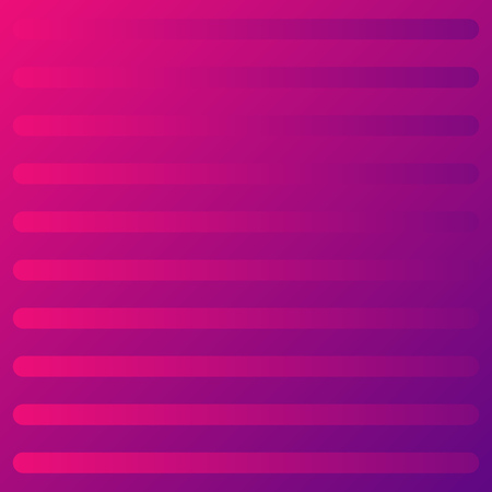 Abstract gradient purpur background. Pattern of geometric horizontal lines. Vector illustration