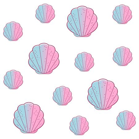 Simple sea shell.
