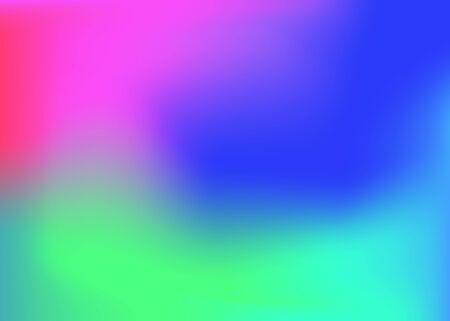 Abstract blurred multicolor gradient background. Colorful bright colors mesh banner. Vector template