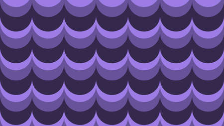 A fashionable, wavy background in shades of ultraviolet  vector seamless pattern