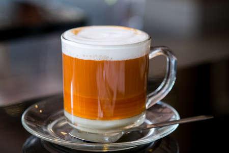 Hot Thai Tea With Milk