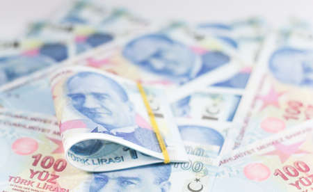 turkish banknotes - turkish lira