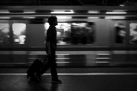 Commuter Life Фото со стока - 100782771