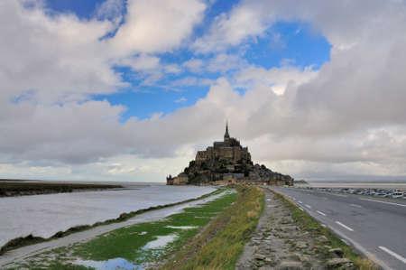 Famous Mont Saint Michel in Normandy, France Stock Photo - 8378759